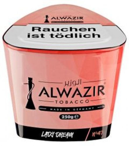 Shisha Tabak Al Wazir Lady Dream 74 Strawberry - 250g Dose
