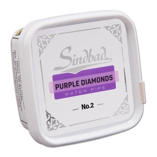 Sindbad Shisha Tabak Purple Diamonds No. 2 Traube 200g Dose
