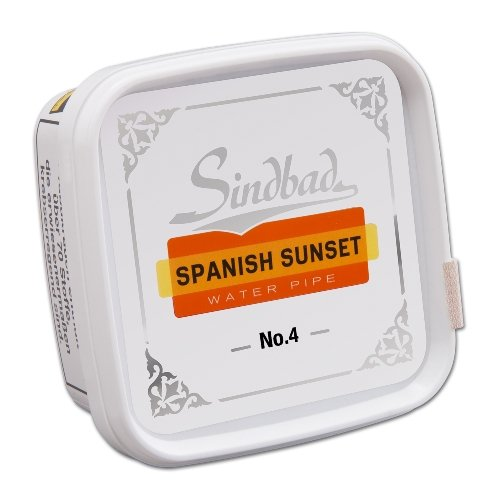 Sindbad Shisha Tabak Spanish Sunset No. 4 Orange & Cream 200g Dose