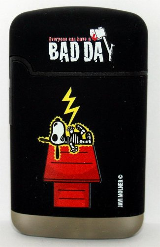 Snoopy Easy Torch 8 Jet Feuerzeug Bad Day