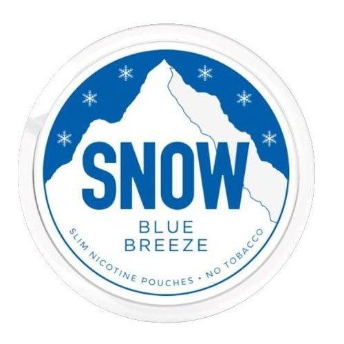 Snow Blue Breeze All White Slim Nicopods