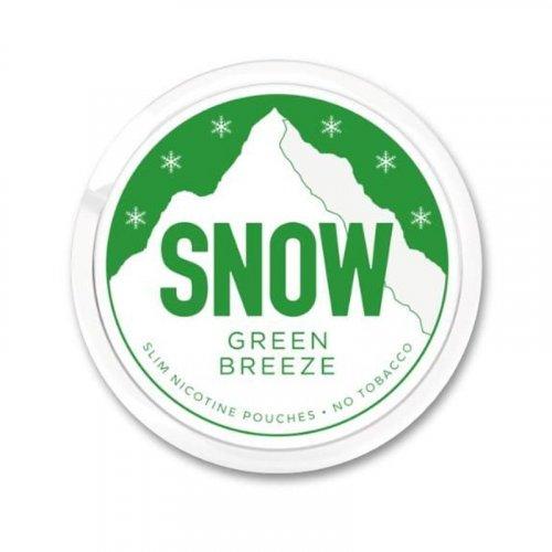 Snow Green Breeze All White Slim Nicopod