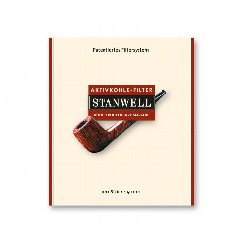 Stanwell Aktivkohlefilter Pfeifenfilter 100 Stück