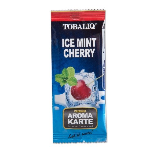 TOBALIQ Aromakarte Ice Mint Cherry