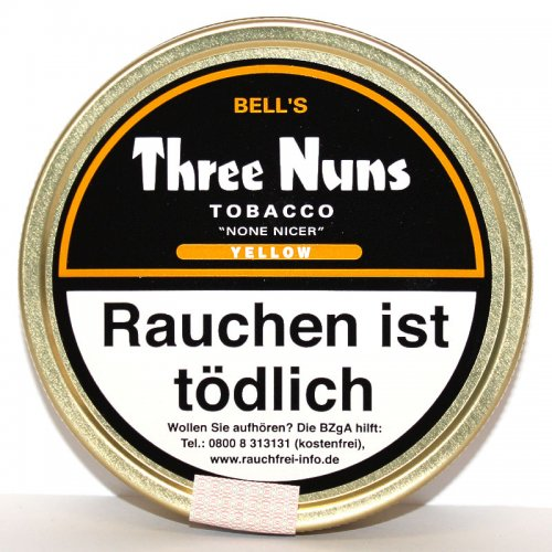 Three Nuns Yellow Pfeifentabak 50g