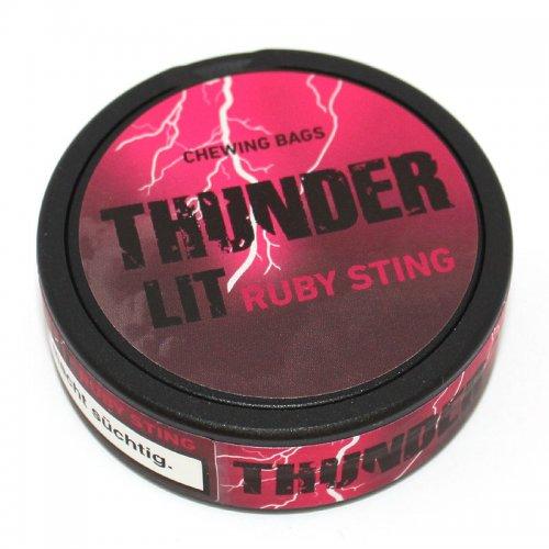 Thunder LIT Ruby Sting (ehem. Ultra Strong VERY RASPY) 17,6g Dose