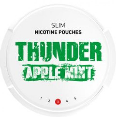 Thunder Slim Apple Mint Nicopods