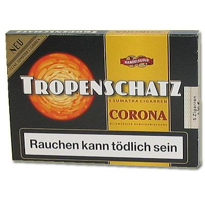 Tropenschatz 421 F Sumatra Zigarren 5er