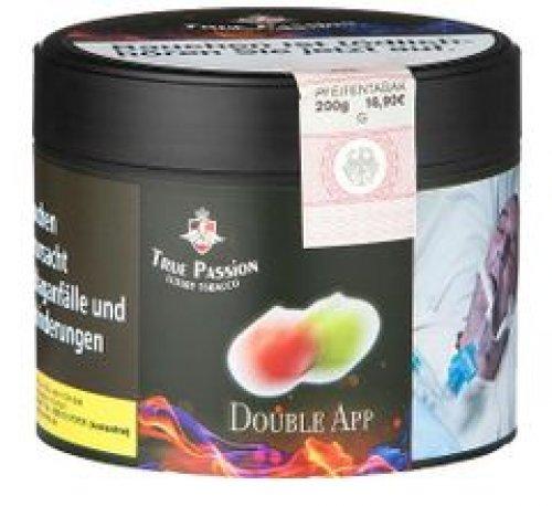 True Passion Double App 200g Dose Wasserpfeifentabak