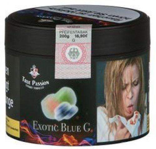 True Passion Exotic Blue G 200g Dose Wasserpfeifentabak