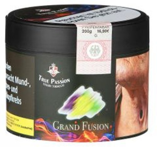 True Passion Grand Fusion 200g Dose Wasserpfeifentabak
