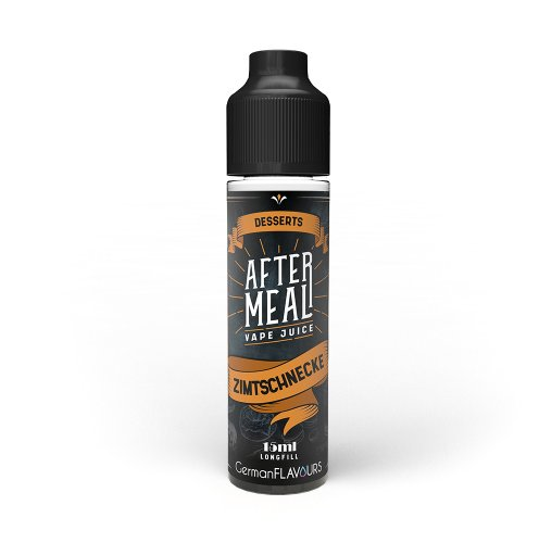 Vape Juice After Meal Zimtschnecke Longfill 15 ml