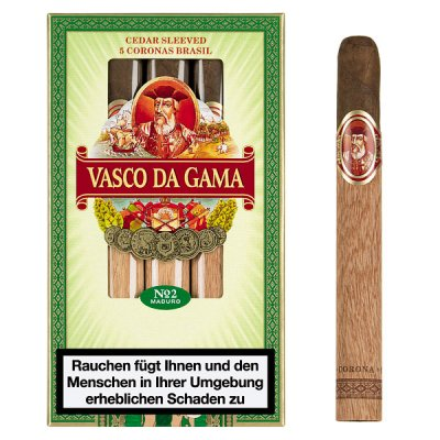 Vasco Da Gama No.2 Maduro 5er Brasil