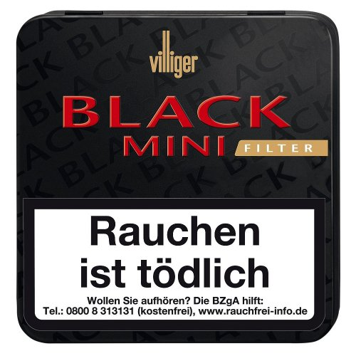 Villiger Black Mini Zigarillos mit Filter