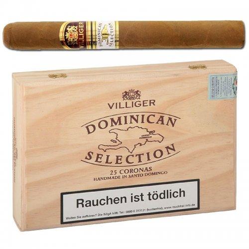 Villiger Dominican Selection Corona Zigarren 25 Stück