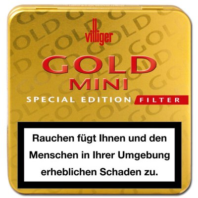 Villiger Gold Mini Filter Special Edition
