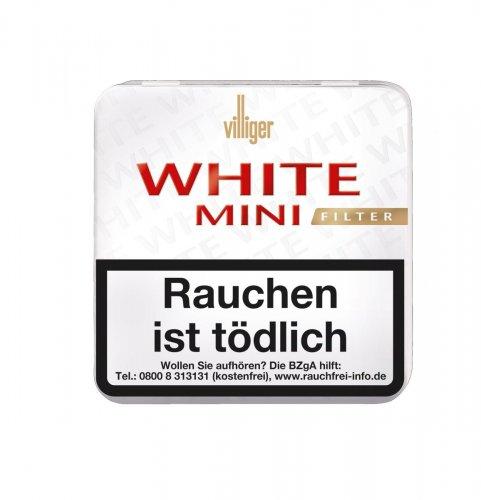 Villiger White Mini Filter Zigarillos 20 Stück