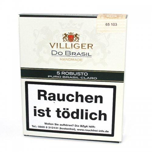 Villiger Zigarren Do Brasil Claro Robusto 5er