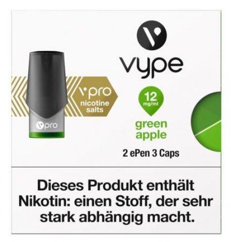 Vype ePen 3 Caps vPro green apple 12mg Nikotin