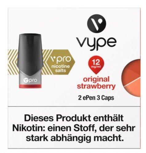 Vype ePen 3 Caps vPro original strawberry 12mg Nikotin