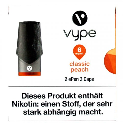 Vuse ePen3 Caps Classic Peach 6mg