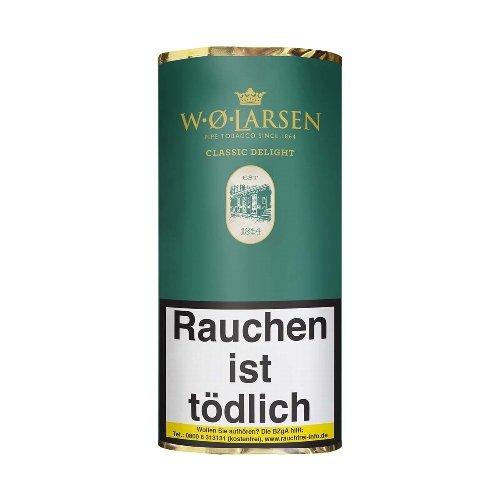 W. O. Larsen Classic Delight Pfeifentabak 50g Päckchen