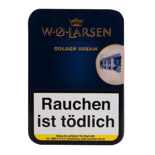 W.O.Larsen Pfeifentabak The Masters Blend Golden Dream 100g Dose