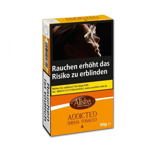 Wasserpfeifentabak-Alisha Addicted (Apples) 50g