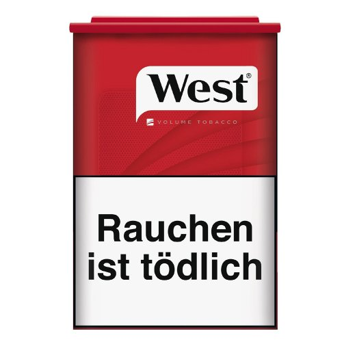 West Red Tabak 60g Dose Volumentabak