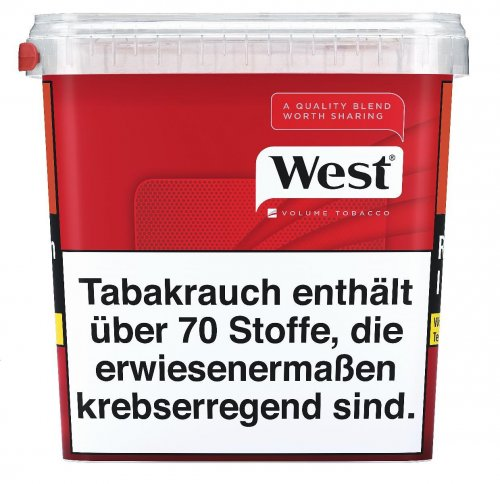 West Red Tabak GIGA BOX 280g Volumentabak