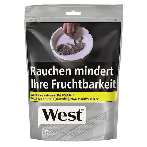 West Silver Tabak 105g Beutel Volumentabak