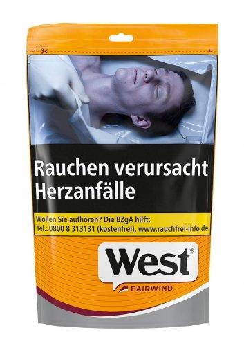 West Yellow Tabak (Fairwind)121g Jumbo Beutel Volumentabak