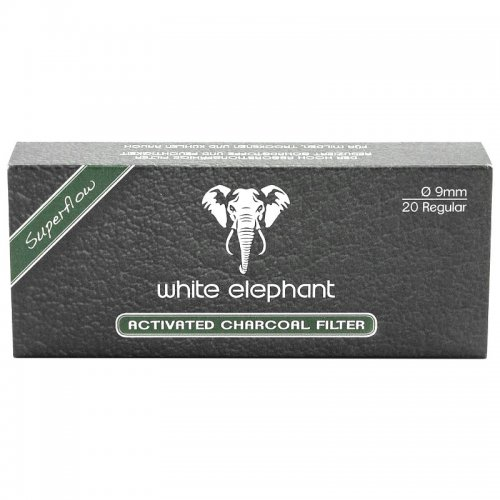 White Elephant 20 Activated Charcoal Filter 9mm
