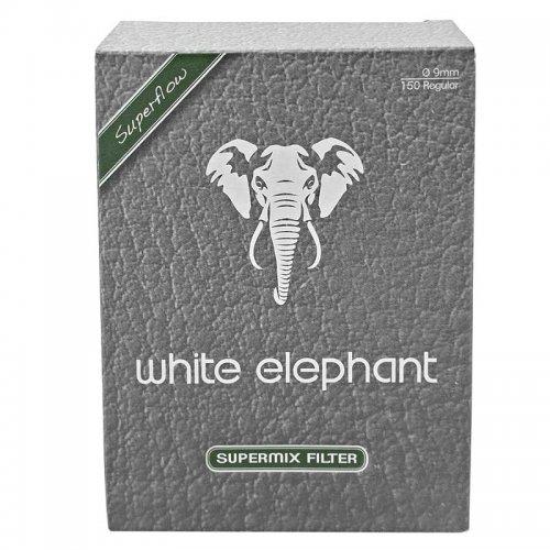 White Elephant Meerschaum PfeifenfilterSupermix 150 Stück