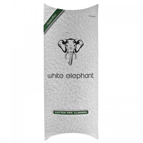 White Elephant Pfeifenreiniger weiß