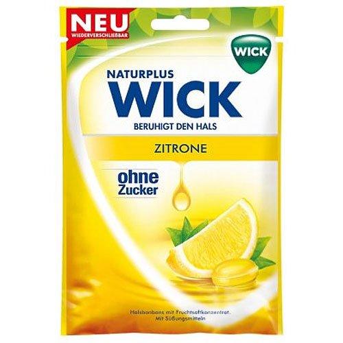 Wick Zitrone ohne Zucker 72g Beutel