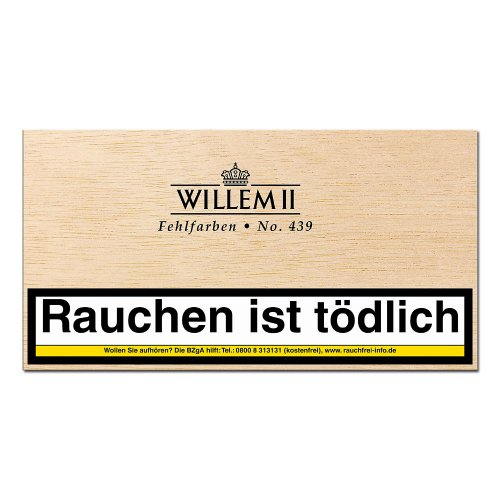 Willem II Zigarillos Fehlfarben 439 Sumatra 100er
