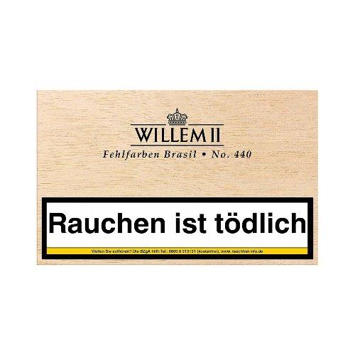 Willem II Zigarillos Fehlfarben 440 Brasil 50er