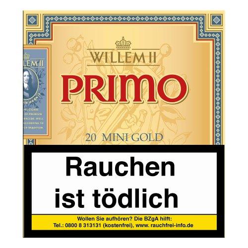 Willem II Zigarillos Primo Mini Gold Sumatra 20er