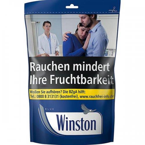 Winston Blau 125g Zip-Beutel Volumentabak