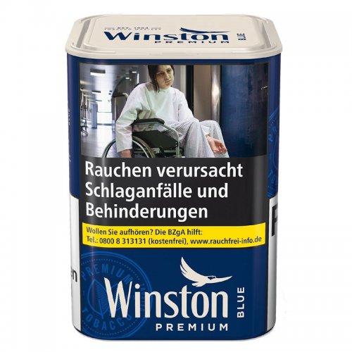 Winston Tabak Blau 90g Dose Stopftabak