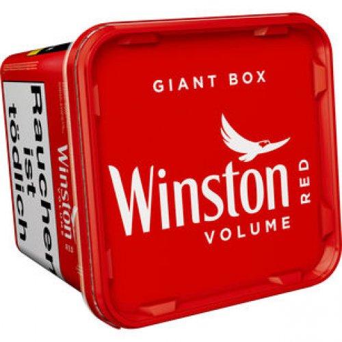 Winston Tabak Rot 260g Giant Box Volumentabak