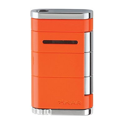 Xikar Allume Single Jet Feuerzeug Crush-Orange