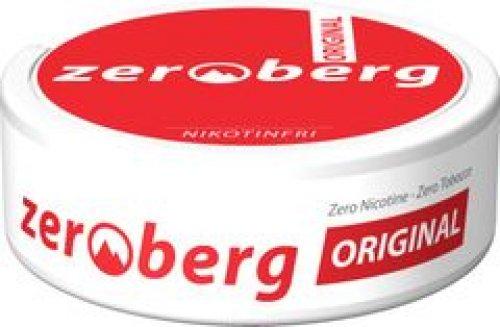 Zeroberg Original Chewing Bags Nikotinfrei