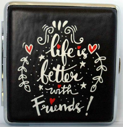 Love and Life Zigaretten Etui 20er Life is better with Friends