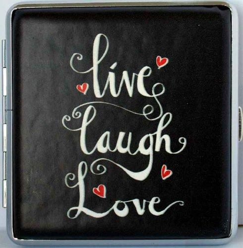 Love and Life Zigaretten Etui 20er Live Laugh Love