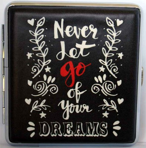 Love and Life Zigaretten Etui 20er Never let go of your Dreams