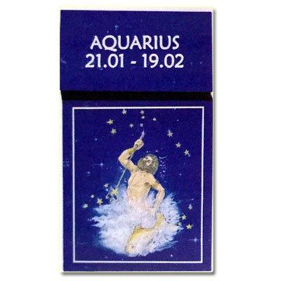 Zigaretten-Faltschachtel Sternzeichen Aquarius/Wassermann