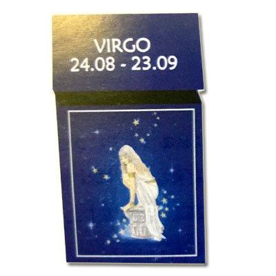Zigaretten-Faltschachtel Sternzeichen Virgo/Jungfrau
