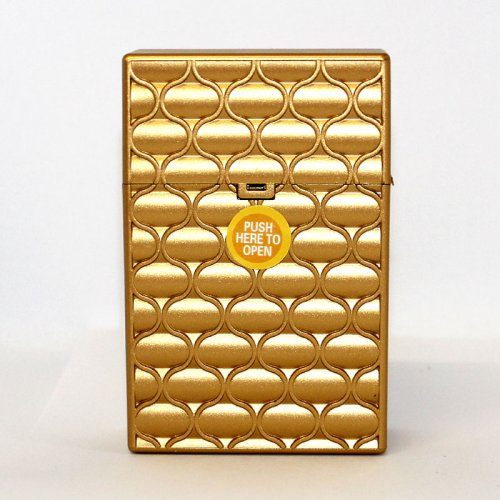 Clic Boxx 20er Deluxe Gold No 1 Zigarettenbox